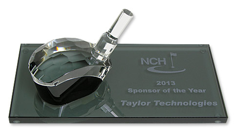 NCH Award Received at Golf Outing